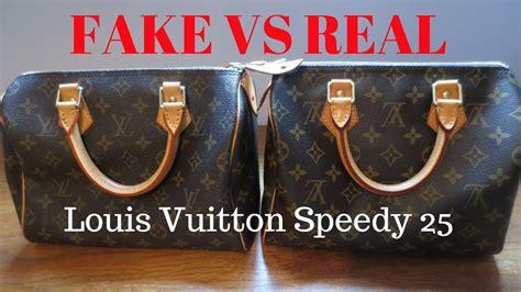 fake  real louis vuitton monogram speedy  handbag