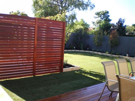 Backyard Privacy Screen by Dg Maintenance Services Decking