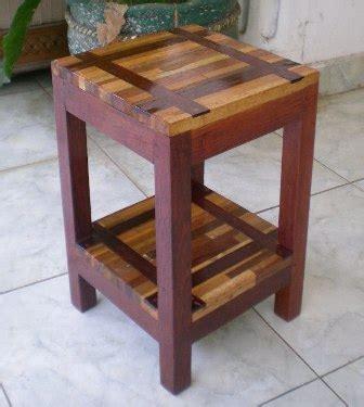 perabot kayu sederhana simply wood furniture meja lampu