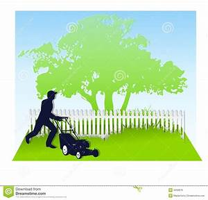Mowing The Lawn In Spring Royalty Free Stock Images ...