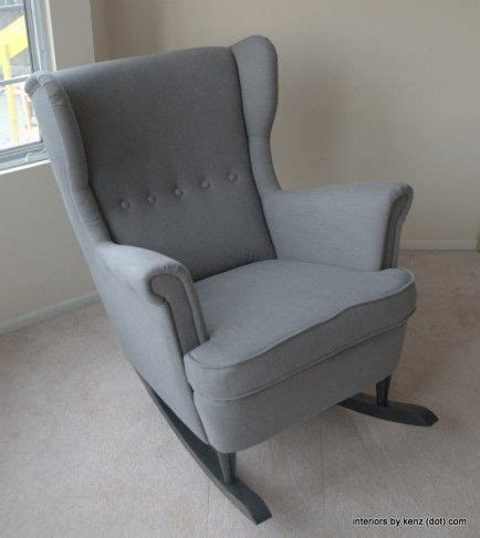 turn a chair into a rocker 25 diys for a totally trendy nursery really great idea for turning a wing chair into a rocker