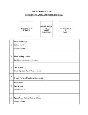 pune police tenant verification form
