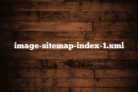 Image Sitemap Index Xml Aviationoutlook