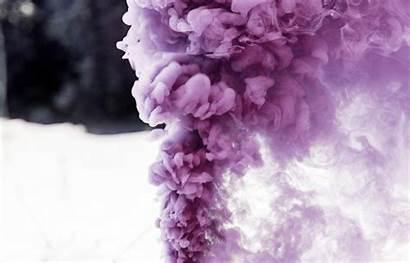 Smoke Nitrogen Triiodide Chemistry Purple Colored Vapor
