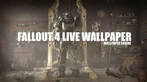 Fallout Animated Wallpaper - fallout 4 live wallpaper wallpaper engine