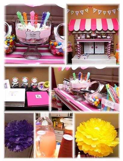 Sweet Shoppe Party Elizabeth Welcome Candy Idea