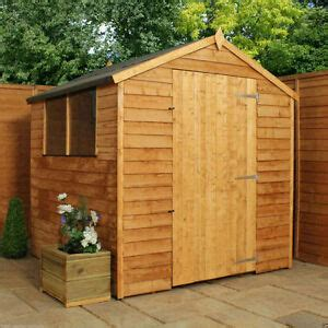 Garden Shed 8x6 Best Price by 8x6 Wooden Garden Shed 8ft X 6ft Wood Sheds Windows Single