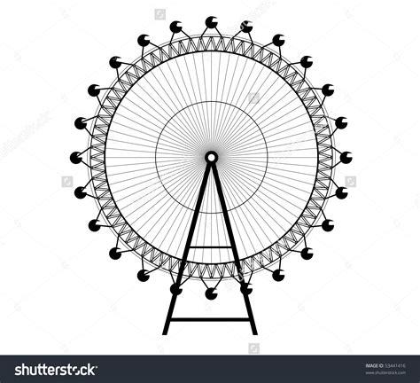 giant ferris wheel clipart clipground