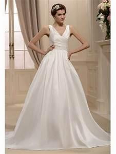 Robe Simple Mariage : robe de mariee simple et originale ~ Preciouscoupons.com Idées de Décoration