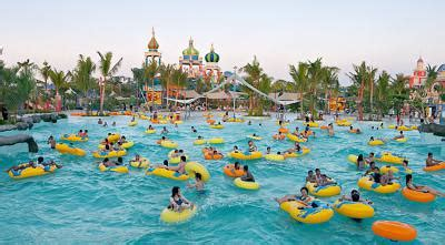 grand wisata bekasi punya waterpark terbesar  indonesia