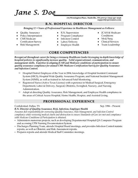 resume exles healthcare administration resume sles types of resume formats exles and templates