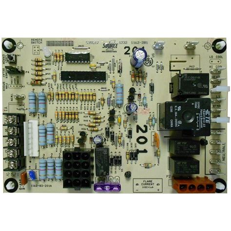 Ga Furnace Board Diagram by 7 In Carrier Furnace Board Icm282 The Home Depot