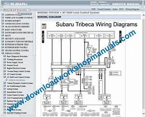 Subaru Tribeca Workshop Repair Manual