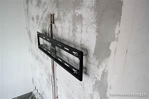Fernseher An Die Wand Hängen Ohne Halterung : fernseher wand ohne kabel m bel design idee f r sie ~ Michelbontemps.com Haus und Dekorationen