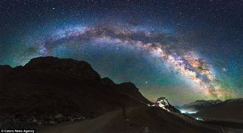 Timelapse Video Shows The Tibetan Sky Night Daily
