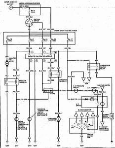 92 Integra Cooling Fan Relay Wiring Diagram