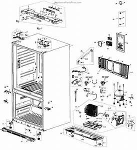 Parts For Samsung Rf266aebp  Xaa  Compressor Parts