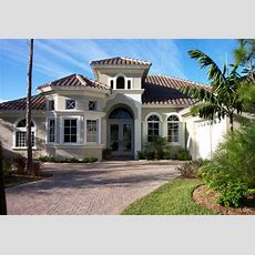 Mediterranean Style House Plan  3 Beds 350 Baths 2645 Sq