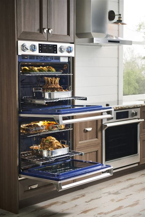 samsung nvkss   wall oven   cu ft capacity steam cook convection rapid