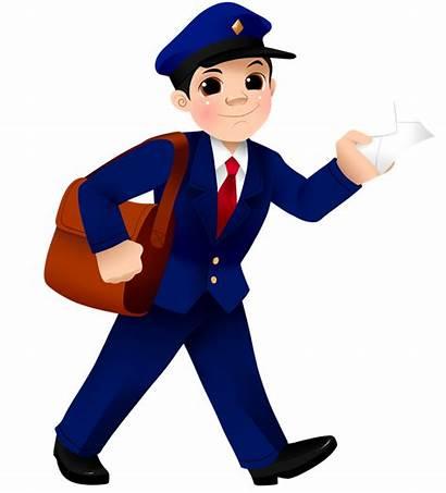 Postman Mailman Clipart Mail Clip Postmen Cliparts