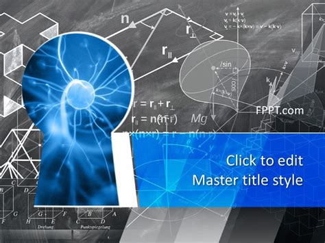 science knowledge powerpoint template