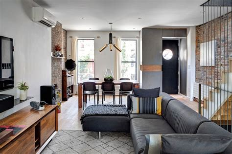 Renovated 1890s Brooklyn Home with Brick Walls by Gradient
