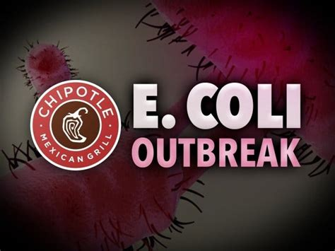 Boardman Chipotle by 40 Cases Of E In Northwest Outbreak Linked To