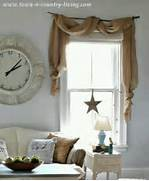 Burlap Curtain   Decorating Ideas   Pinterest  Burlap Curtains Pinterest