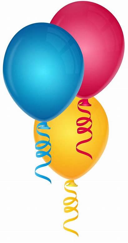Balloons Clipart Three Clip Yopriceville