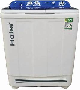 Haier 8 Kg Semi Automatic Top Load Washing Machine White