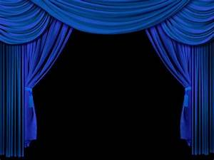 Kate Stage Curtain Blue Decoration Backdrops For