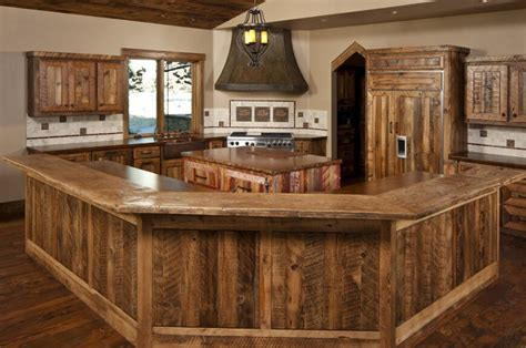 diy rustic kitchen cabinets 27 quaint rustic kitchen designs tons of variety 6888