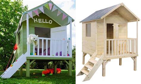cuisine carré une cabane en bois pour enfant à prix doux joli place