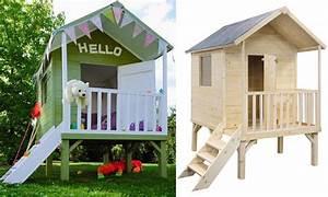 Maison De Jardin En Bois Enfant : une cabane en bois pour enfant prix doux joli place ~ Dode.kayakingforconservation.com Idées de Décoration