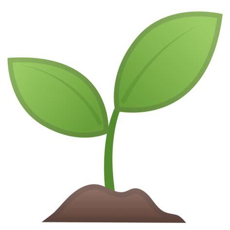 muda de planta emoji