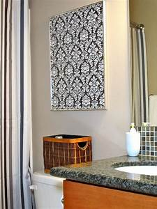 Diy wall art bathroom : Blukatkraft diy quick easy wall art for bathroom
