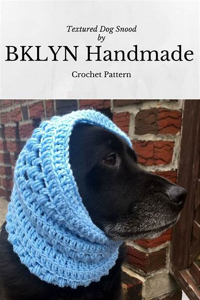 Snood Pattern Crochet Dog Dogs Scarf Sewing