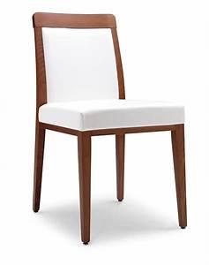 sedia moderna con sedile imbottito per ristoranti idfdesign With sedie imbottite moderne
