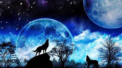 Wolf Howling Wolves 3d Mobile