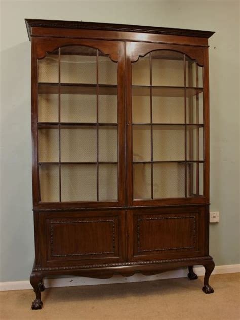 antique shop display cabinets for antique mahogany china display cabinet 266926 9032