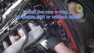 Audi B5  1 8t Oil Cooler Seal Replacement