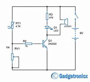 Heat Sensor Circuit Diagram