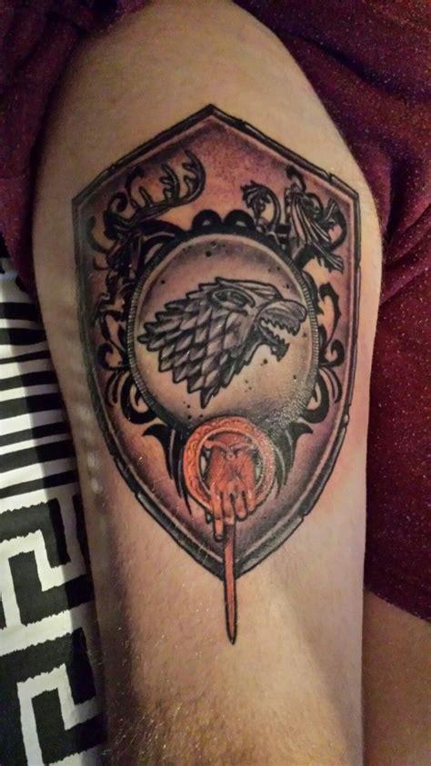 outstanding game  thrones tattoos   shocking