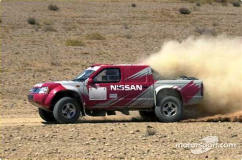 nissan dakar nissan rally raid team launch nissan pickup at dakar