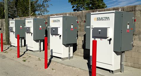 solectria renewables commercial inverters power 1 2mw installation in fort myers florida at