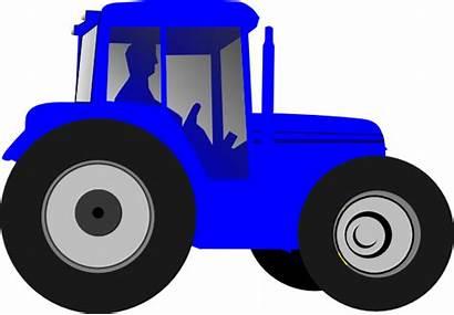 Tractor Clip Clipart Clker Vector