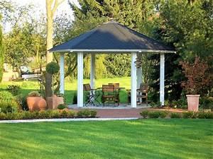 Dach Für Gartenpavillon : 6 eck pavillon holz offen gartenpavillon panorama von riwo ~ Markanthonyermac.com Haus und Dekorationen