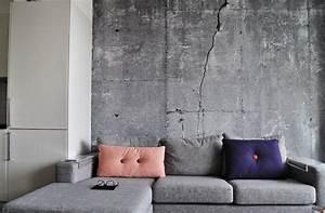 Beton Effekt Farbe : sichtbeton zu hause wie kann man seine sch nheit zur ~ Michelbontemps.com Haus und Dekorationen