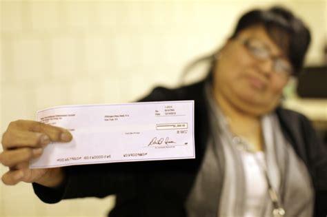 cobell checks   time  lni christmas cash