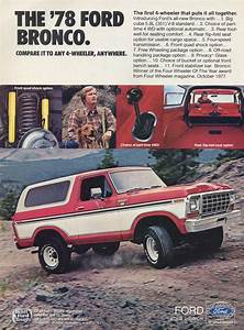 This Old Ad The 1978 Ford Bronco